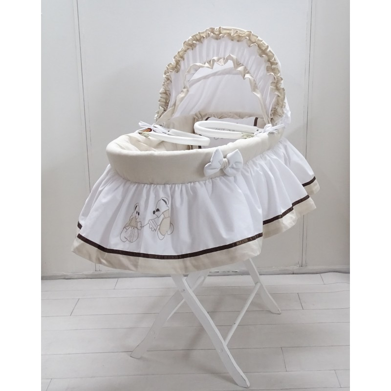 bassinet petticoat small pooh. Black Bedroom Furniture Sets. Home Design Ideas