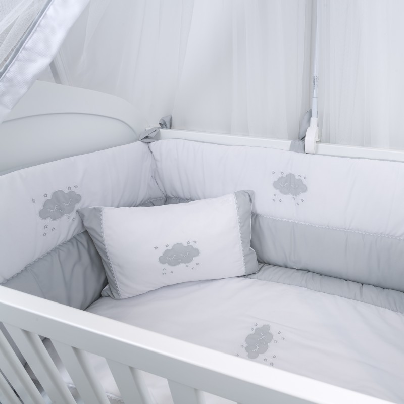 Tour de lit collection nuage - Tour de lit bebe nuage ...
