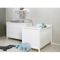 Pack - lit + commode + plan à langer - Collection Corse