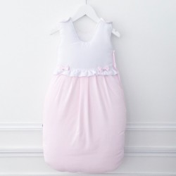 Sleeping bag - Pink and white