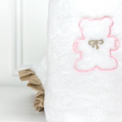 Toddler blanket - Teddy Biscuit