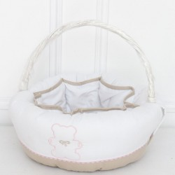 Baby basket - Biscuit Teddy