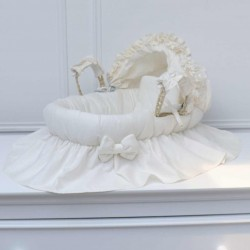 Doll bassinet - Cream