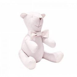 TEDDY DECORATIF GRIS PERLE