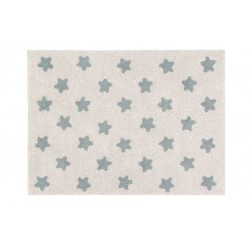 Washable carpet - Natural stars