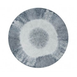 Washable Carpet - Tye Dye blue