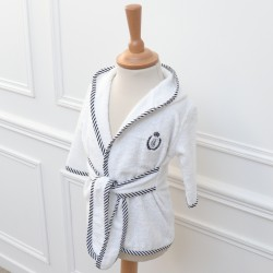 Bathrobe + washcloth - Noeud Couture
