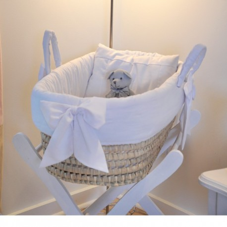 White palm bassinet - My pooh bear - by Cocon d'Amour