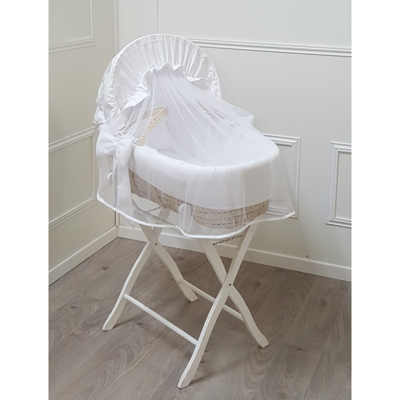 white palm bassinet pure by cocon d 39 amour. Black Bedroom Furniture Sets. Home Design Ideas