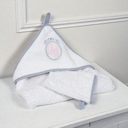 Cape de Bain & Son Gant - Collection Médaillon Couture