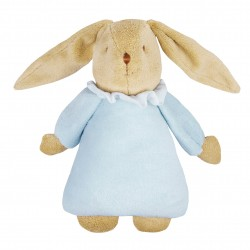 Sky blue music rabbit (25 cm)