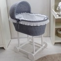 Vintage cradle - Mouse grey - by Cocon d'Amour
