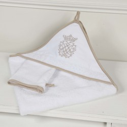 Cape de Bain & Gant de Toilette - Collection Arabesque