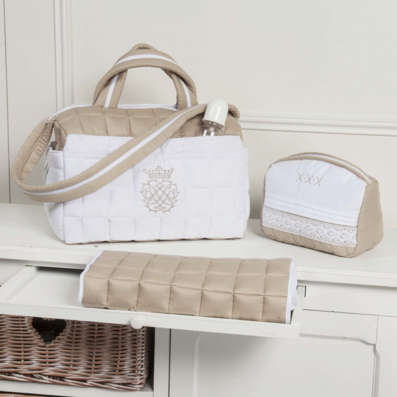 ensemble trousse toilette et sac de maternit 233 collection arabesque