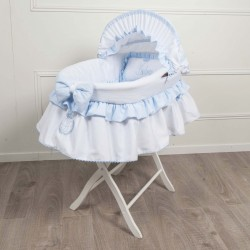 Princess Powder pink bassinet cradle