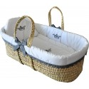 White palm bassinet - Couronne - by Cocon d'Amour