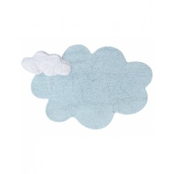 Washable carpet - Blue dream