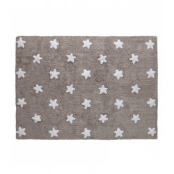 Grey flexible child carpet Baby (120 x 160 cm)