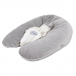 Grey nursing pillow