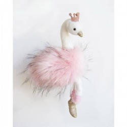 Soft toy - Pink Swan XL