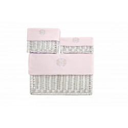 Wicker boxes 3pcs - Exclusive Collection