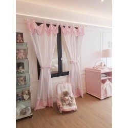 Baby curtains - Médaillon Couture