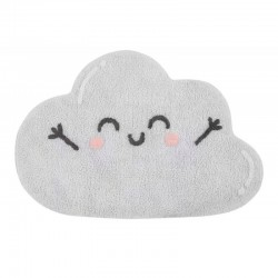 Washable carpet - Grey cloud
