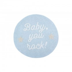 Washable carpet - Baby, you rock !