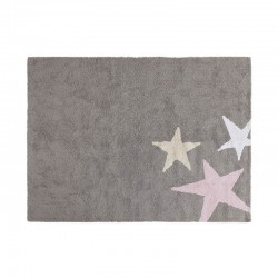 Washable carpet - Three stars girly