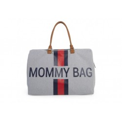 Mommy bag - Grey with bands